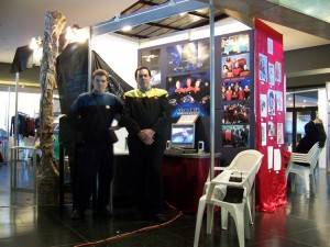 Stand de Star Trek en Montevideo Comics 2006