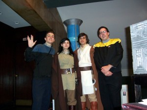 Crossover entre Star Trek y Star Wars.