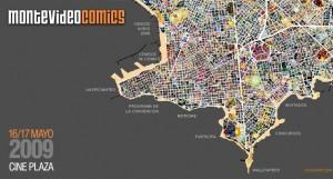 Imagen del Sitio Web de Montevideo Comics 2009