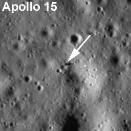 Módulo lunar, Apolo 15, Falcon