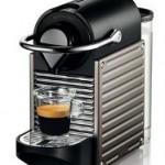 Cafetera Nespresso Pixie Titanio