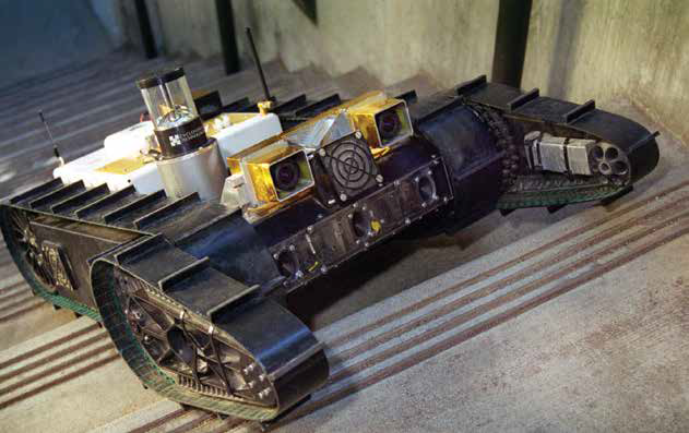 PackBot Tactile Mobile Robot