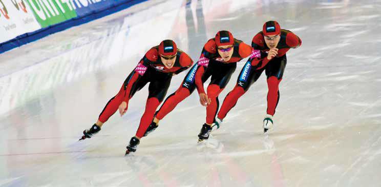 Equipo de patinaje de EEUU en los JJOO de invierno de Salt Lake City 2002